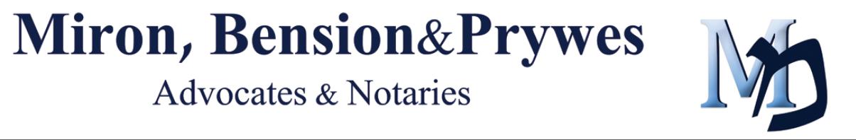 Miron, Bension & Prywes, Advocates & Notaries