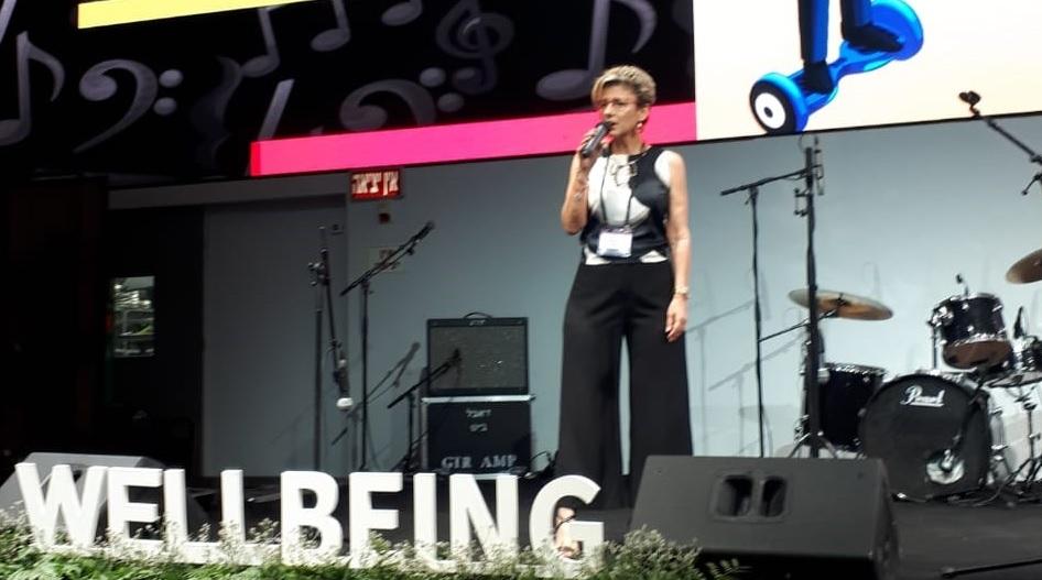 """תהילה ינאי, מנכ""""לית משותפת ב COFACEBDI בכנס Well Being"""